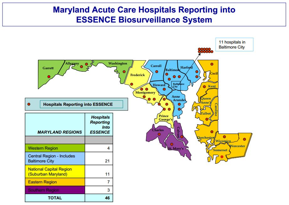 Image Gallery hospitals in maryland