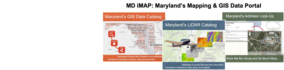 All of Maryland's Open Data and Maps, Searchable from a Single Location